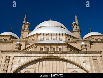 Muhammad-Ali-Moschee in der Saladin-Zitadelle von Kairo, Ägypten. - Stockfoto