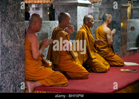 Der buddhistische Tempel Wat Wintermonaten Doi Suthep, Chiang Mai, Thailand. - Stockfoto
