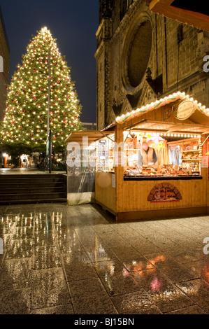 Weihnachtsmärkte Kurfürstendamm Berlin Deutschland - Stockfoto