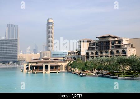 Downtown Burj Khalifa, Dubai, Vereinigte Arabische Emirate - Stockfoto