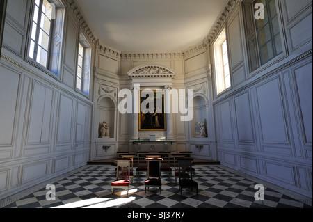 Kapelle, Petit Trianon, Versailles, Yvelines, Frankreich - Stockfoto