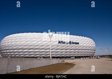 Fußballstadion Allianz Arena in München, Bayern, Deutschland, Europa ...