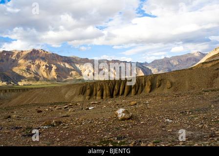 die bezaubernde Aussicht gefleckte in Jammu Kashmir Ladakh Zustand - Stockfoto