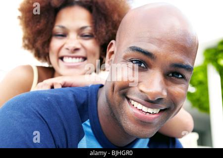 Porträt eines Paares - Stockfoto