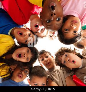 Gruppe von Kindern - Stockfoto