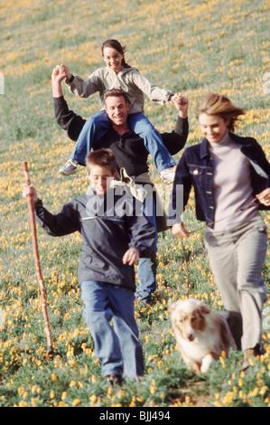 Familie Wandern - Stockfoto