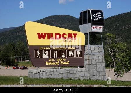 USA New Hampshire White Mountains - Stockfoto
