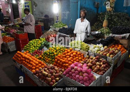 Chalai Markt, Trivandrum, Thiruvananthapuram, Kerala Zustand, Indien, Asien - Stockfoto