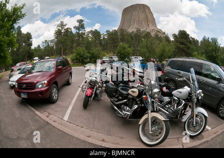 Devils Tower National Monument, Wyoming, USA - Stockfoto