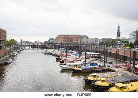 Hamburger Hafen - Stockfoto