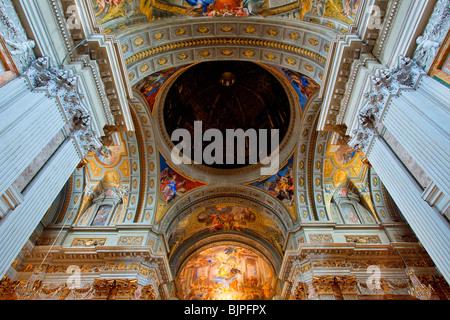 Sant' Ignazio di Loyola Kirche, Rom - Stockfoto
