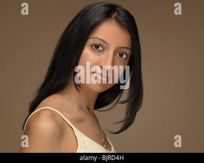 Porträt einer Frau - Stockfoto