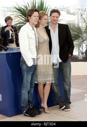 KEVIN BACON RACHEL BLANCHARD & COLIN FIRTH CANNES FILM FESTIVAL 2005 CANNES Frankreich 13. Mai 2005 - Stockfoto