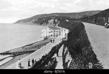 Western Parade, Eastbourne, East Sussex, Anfang des 20. Jahrhunderts. Artist: Unbekannt - Stockfoto
