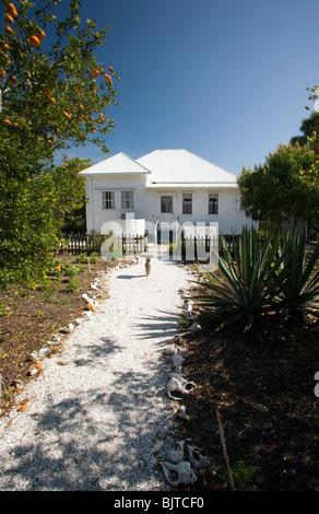 Sanibel Island historischen Dorfmuseum - Sanibel Island, Florida USA - Stockfoto