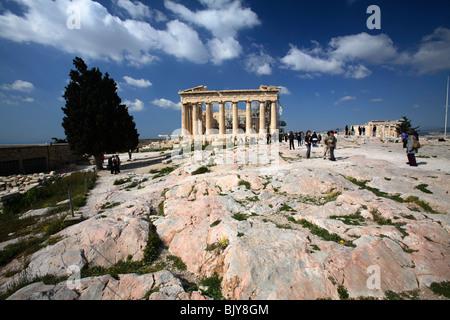 Der Parthenon, Athen, Griechenland - Stockfoto