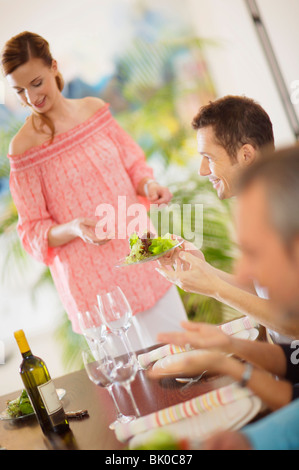 Party kochen - Stockfoto