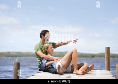 Verliebten Paar - Stockfoto