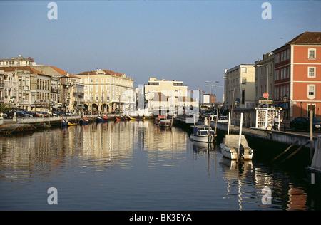 Aveiro, Portugal (Venedig von Portugal) - Stockfoto
