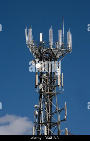 Mast Fernmeldeturm Tunbridge Wells Kent England - Stockfoto