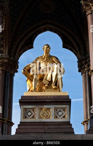 Albert Memorial, Kensington Gardens, London, England, Vereinigtes Königreich - Stockfoto
