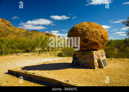 Flynn Memorial, Alice Springs, Northern Territories, Australien - Stockfoto