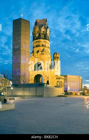 Kaiser-Wilhelm-Gedächtnis-Kirche, Berlin, Deutschland - Stockfoto