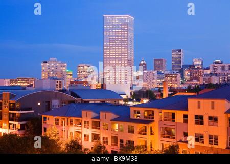 Gebäude in einer Stadt, uns Bancorp Tower, Portland, Oregon, USA - Stockfoto