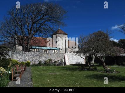 St. Margaret Pfarrei Kirche, Rottingdean, East Sussex - Stockfoto
