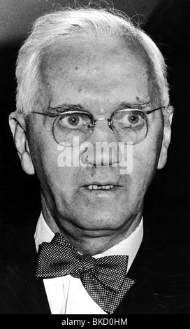 Fleming, Sir Alexander, 5.8.1881 - 11.3.1955, schottischer Wissenschaftler (Bakteriologe), Porträt, 1950er Jahre, - Stockfoto