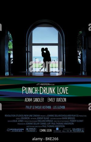 DRUNK LOVE (2002) PLAKAT PDRL 001 POST - Stockfoto