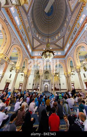Dubai Vereinigte Arabische Emirate Stadt Moschee - Stockfoto