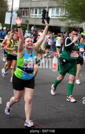 Der Virgin London-Marathon 2010 - Stockfoto