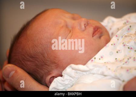 Zwei Wochen altes baby - Stockfoto