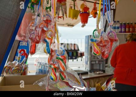 am Meer Erfrischung kiosk - Stockfoto