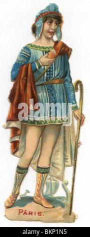 Französin in Kostüm - Stockfoto