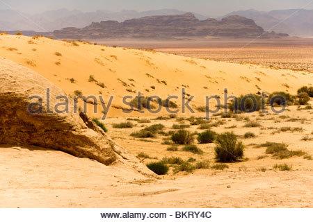 Wadi Rum, Jordanien, Naher Osten, Asien - Stockfoto