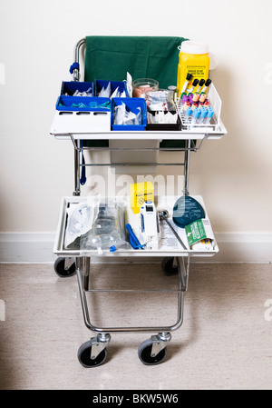 Instrumente für eine Prüfung der Gesundheit - Stockfoto