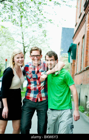 Drei Personen - Stockfoto