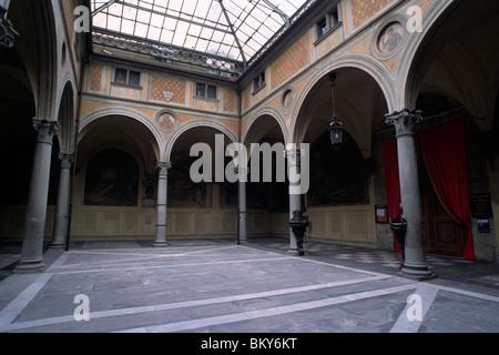 Chiostrino dei voti, Basilika Santissima Annunziata Florenz, Toskana, Italien - Stockfoto