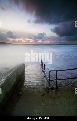 Breite Haven Beach, Pembrokeshire, Wales, UK - Stockfoto
