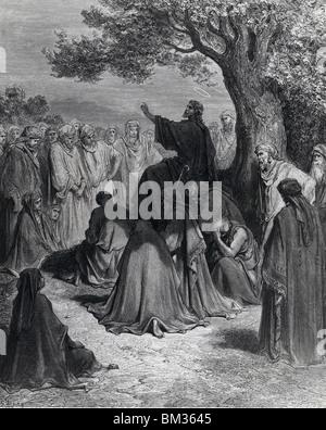 Jesus der Heiler von Gustave Dore, (1832-1883) - Stockfoto