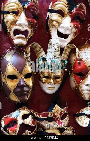Venedig - traditionellen venezianischen Karnevalsmasken - Stockfoto