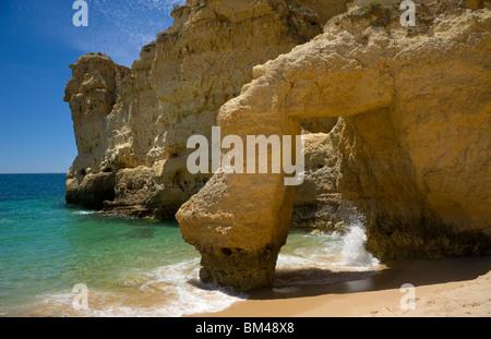 Portugal, Algarve, Praia De Sao Rafael, Albufeira - Stockfoto