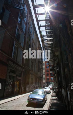 Cortlandt Alley, Tribeca, New York City - Stockfoto