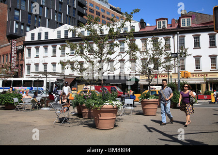 Meatpacking District, Downtown Szeneviertel, Manhattan, New York City, USA - Stockfoto