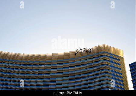 Aria Hotel und Casino, City Center Komplex, Las Vegas, NV, USA - Stockfoto