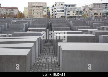 Berlin-Holocaust-Mahnmal - Stockfoto