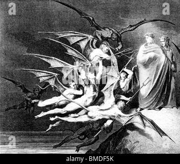 Teufel behindern die Dichter-detail - Stockfoto