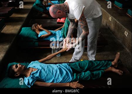 Indien Kolkata, Kali Ghat, Nirmal Hriday-reinen Herzen - hospiz Für sterbende bei Kali Tempel, gegründet von Mutter - Stockfoto